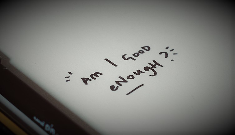 Am I good enough handwritten